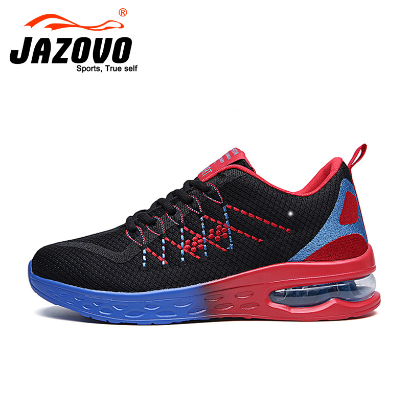 2017 Jazovo Men Running Shoes For font b Best b font Trends Run Athletic Trainers Zapatillas