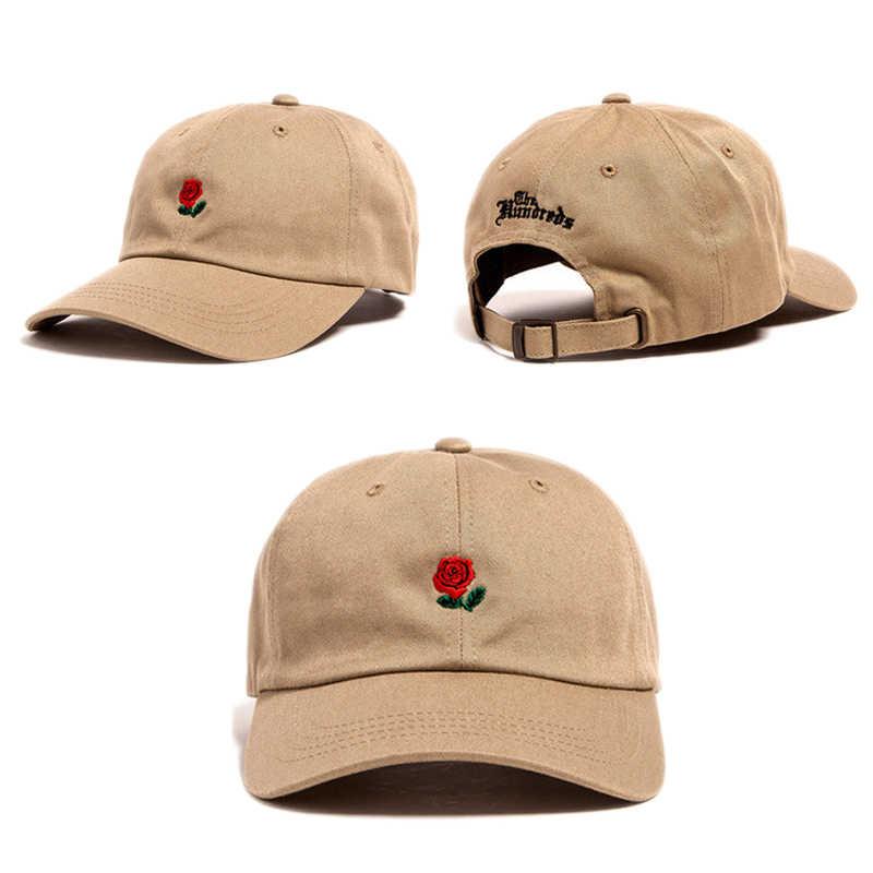 e016e5ac2 New Hot Fashion Roses Men Women Baseball Caps Spring Summer Sun Hats for  Women Solid Snapback Cap Wholesale Dad Hat