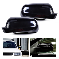 beler New Pair Right Left Black Wing Mirror Cover Case Cap for VW Volkswagen Golf MK4 Jetta Passat B5 1996 1997 1998 1999-2004
