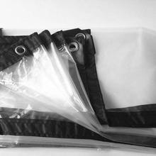 Тонкий 2 м X 1 м 60% прозрачный наружный чехол, Водонепроницаемый брезент, непромокаемый брезент. Парник полупрозрачный пластиковый материал