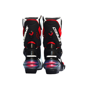 Image 4 - Мужские мотоциклетные ботинки, скоростная обувь для мотокросса, байкерские ботинки, мужские спортивные сапоги для езды на велосипеде по бездорожью