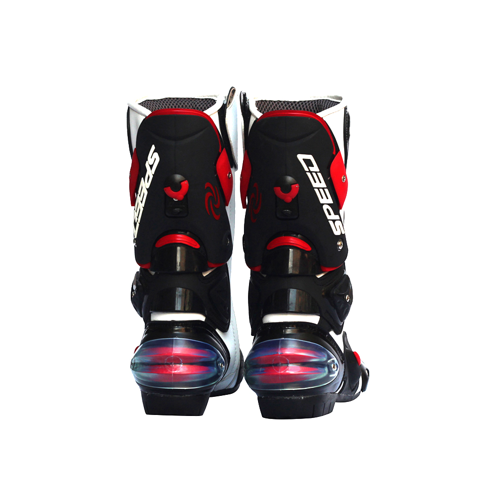 Image 4 - Men Motorcycle Boots Motocross Racing Speed Motorbike shoes Moto Boot Motorcycles Boots Men dirt bike Cycling Sports Botas-in Motocycle Boots from Automobiles & Motorcycles