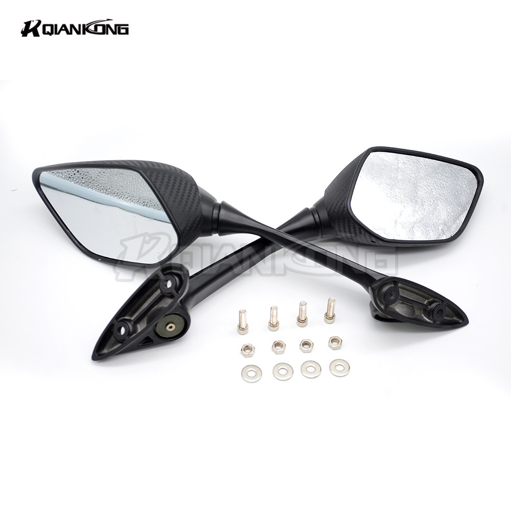 FOR YAMAHA YZF R25 2014 2015 2016 YZF R3 r3 2015 2016 2017 High temperature paint Long lever Rear View Mirror Rearview Mirrors in Side Mirrors Accessories from Automobiles Motorcycles