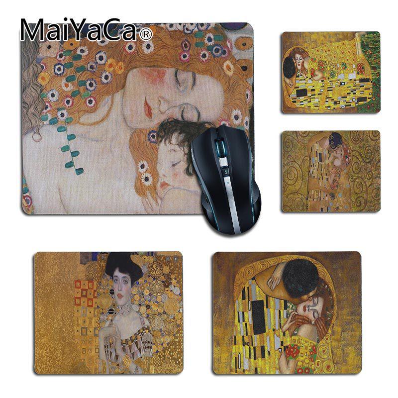 MaiYaCa the kiss Gustav Klimt Rubber Mouse Desktop ...