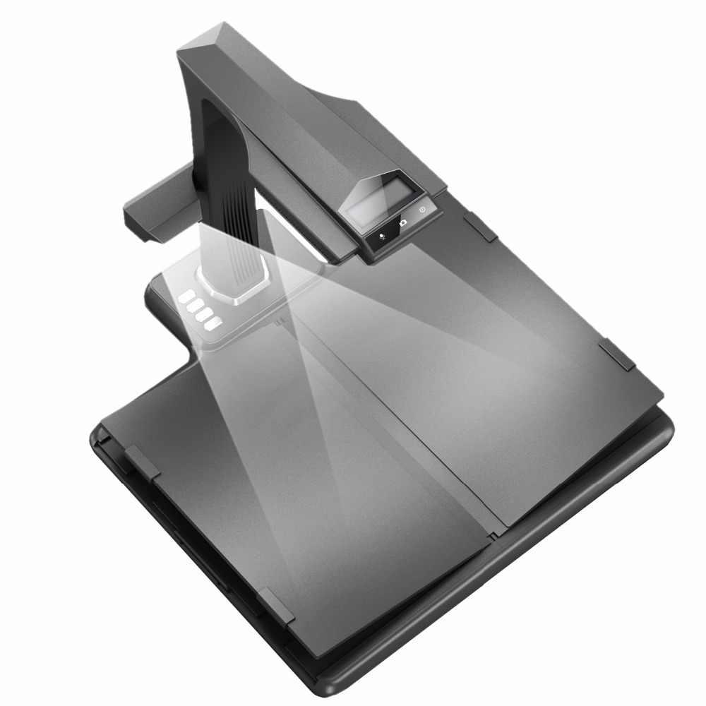 Professional high speed overhead full A3/A4 V-SHAPE Cradle book scanner and document scanning platform/Scanner & Visualiser