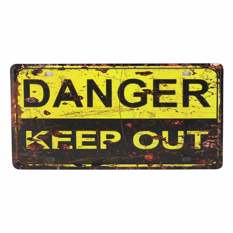 ترخيص لوحة مخزن المرآب ديكور رجل الكهف الحمامات تين تسجيل خمر الطريق دليل المعادن تسجيل اللوحة اللوحات المشارك 30X15 سنتيمتر C14
