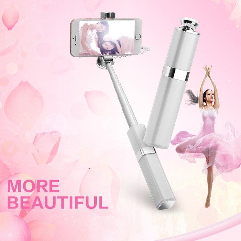 Ruj de lux Design Nud Selfie Stick pentru iPhone 7/7 plus iPhone 6 6s - Camera și fotografia