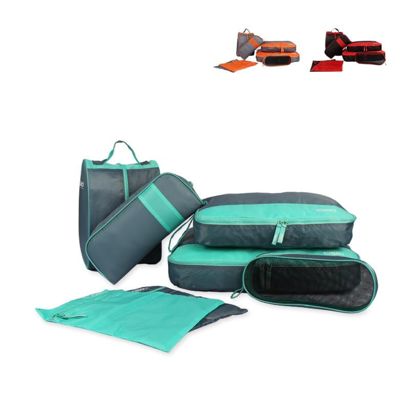 7pcs Waterproof Travel Storage Bag Clothes Underwear Bra