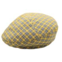 2019 New Beret Hats for Men Women Spring Summer Flat Caps Retro Plaid Berets Femme Adjustable Unisex Cap