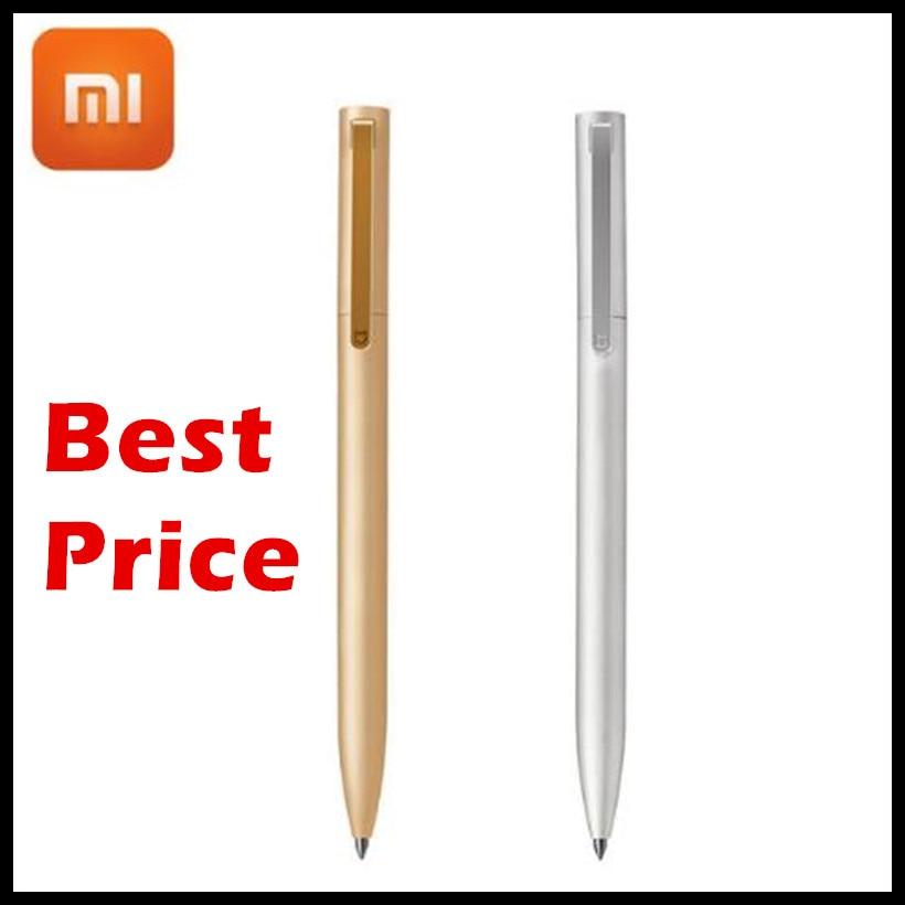 100% Original Xiaomi Mijia pluma 9,5mm pluma de firma PREMEC Suiza recarga MiKuni Japón tinta recargas negras