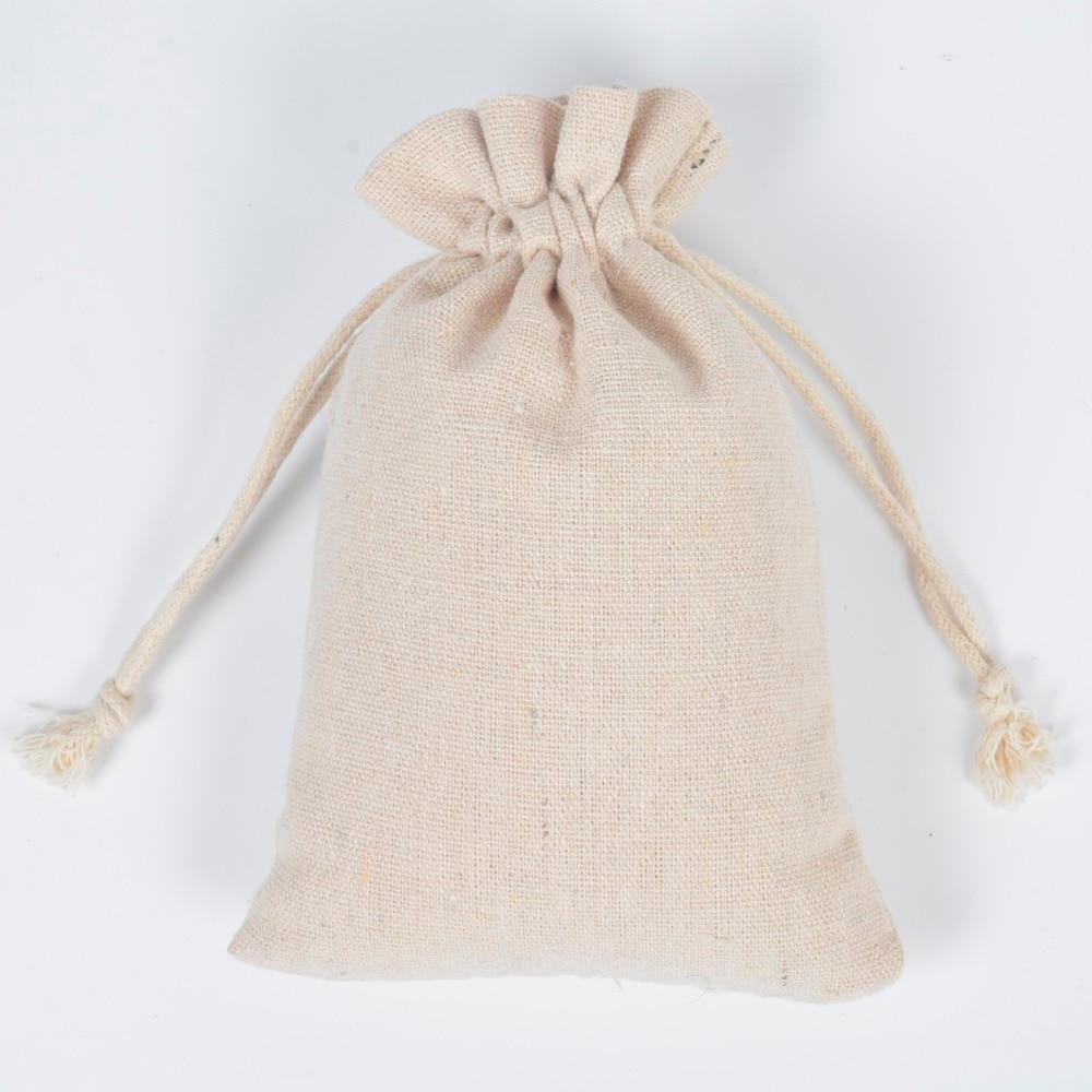 Bolsa de algodão puro saco de pano