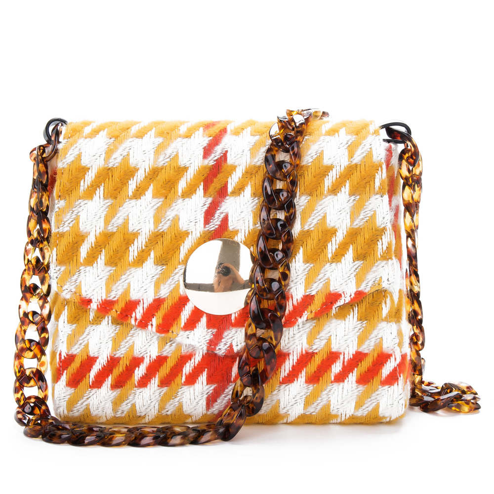 Fish Bone Acrylic Resin Bag Chain Diagonal Handbag Bamboo Strap In Parts Accessories From Luggage Bags On Aliexpress Alibaba Group
