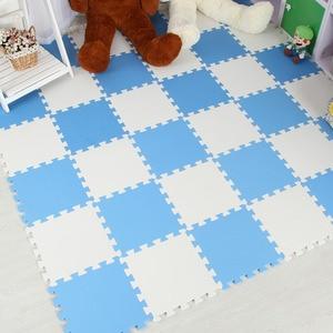 Image 5 - Meitoku bebê eva espuma jogar quebra cabeça esteira/9 pçs/lote bloqueio exercício telhas tapete para o miúdo, cada 32cmx32cm