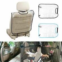 Автомобильное сиденье Черная защитная крышка для детей детский коврик для Кика грязевые чистые аксессуары защищает 1 шт. защита сиденья автомобиля