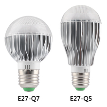 E27 rgb led Dimmable bulb  rgb lamp smart light color changing light bulb 5w 10w Aluminum shell Lamp Smart With Remote Control