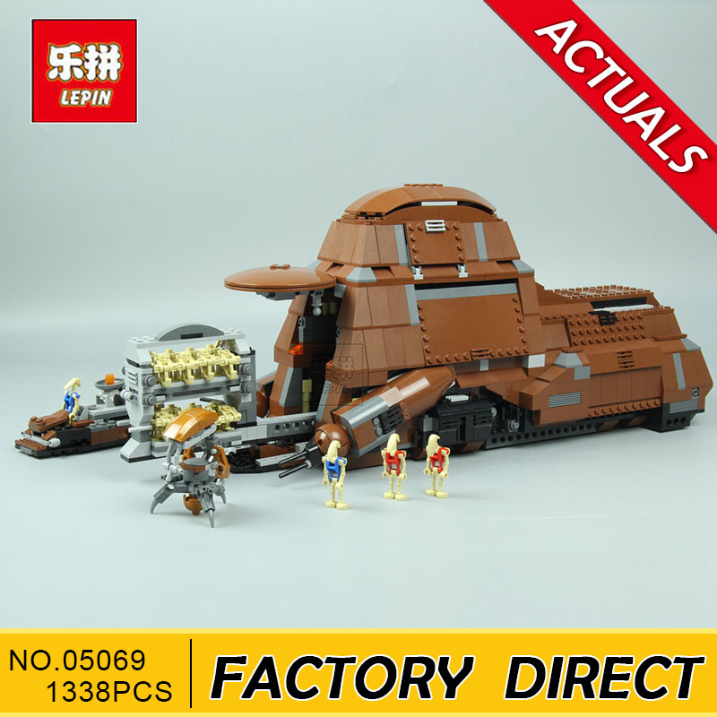 LEPIN 05069 Star Set War Series The Federation Transportation Tank Set MTT Children Building Blocks Bricks legoed Toys 7662 new lepin 16009 1151pcs queen anne s revenge pirates of the caribbean building blocks set compatible legoed with 4195 children