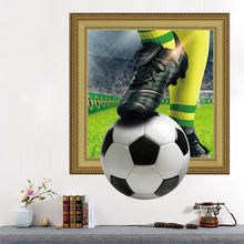 3D Creative World Cup wall stickers wall bedroom living room home decor on the wall room decoration accessories