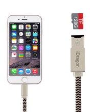 USB 2.0 Micro SD Card Reader Писатель зарядный кабель для iPhone 5/5S/6/6 6 s plus/для iPhone 7 Plus/для Ipad/для MacBook