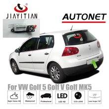 JiaYiTian Автомобильная камера заднего вида для Volkswagen VW Golf 5 Golf V Golf MK5 CCD резервного копирования Камера/Ночное видение/CCD/номерных знаков Камера