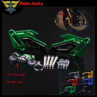 RiderJacky Motorcycle CNC Aluminum Front Brake Disc Caliper Protector Cover Brake caliper For Kawasaki Z900 2017 2018 Z 900