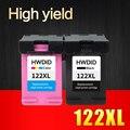 2 pcs cartucho de tinta compatível para hp 122 xl 122xl para hp deskjet 1000 1050 2000 2050 2050 s 3000 3050A 3052A 3054 1010 1510 2540