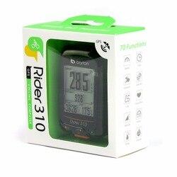 Bryton Rider 310 Enabled Waterproof GPS cycling bike mount wireless speedometer with bicycle garmin edge 200 500510 800810 mount