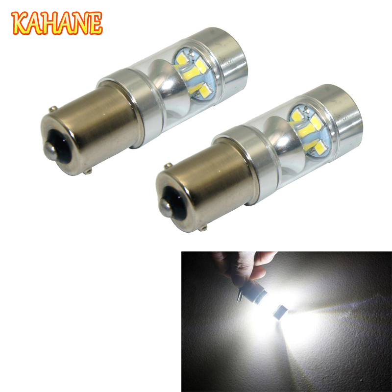 2x 1156 LED Bulb DRL 60W White Daytime Running Light Car Taillight FOR Auid BMW VW Ford Volvo Nissan Hyundai Toyota Honda KIA car floor mats covers free shipping 5d for toyota honda for nissan hyundai buick for ford audi benz for bmw car etc styling