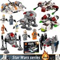 2017 New Star Wars Super Pack Series Building block Homing spider Droid Sets & Republic Gunship Education Bricks toys Xmas Gifts