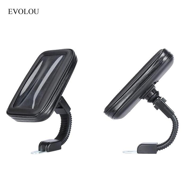 Universal Sepeda Motor Pemegang Ponsel Dukungan Moto Berdiri Kasus - Aksesori dan suku cadang ponsel - Foto 3
