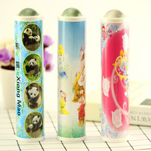 Landscape Kaleidoscope Large Crystal Plastic Exterior Color Head Childrens Educational Toy Gift