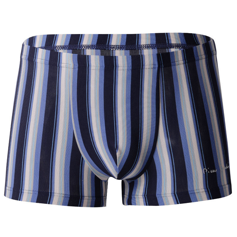 Summer, literature, youth, lattice, day, Department, tide, pure cotton, breathable thin men's underwear, men's middle waist
