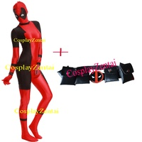 New Lady Deadpool Costume and Belt for Cosplay Halloween Party Spandex Deadpool Costume