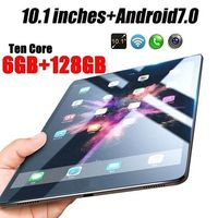 New Original 10.1 Inches Dual SIM 3G Phone Tablet WIFI Andriod 7.1 Ten Core 6G RAM+16/64/128G ROM Tablet Dual GPS Phone Pad