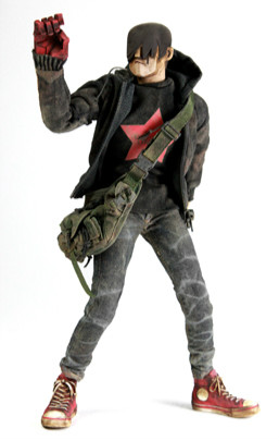 3A ThreeA 16 AK TOMMY ANKOU Zombie Collection Action Figure for Fans Holiday Gift