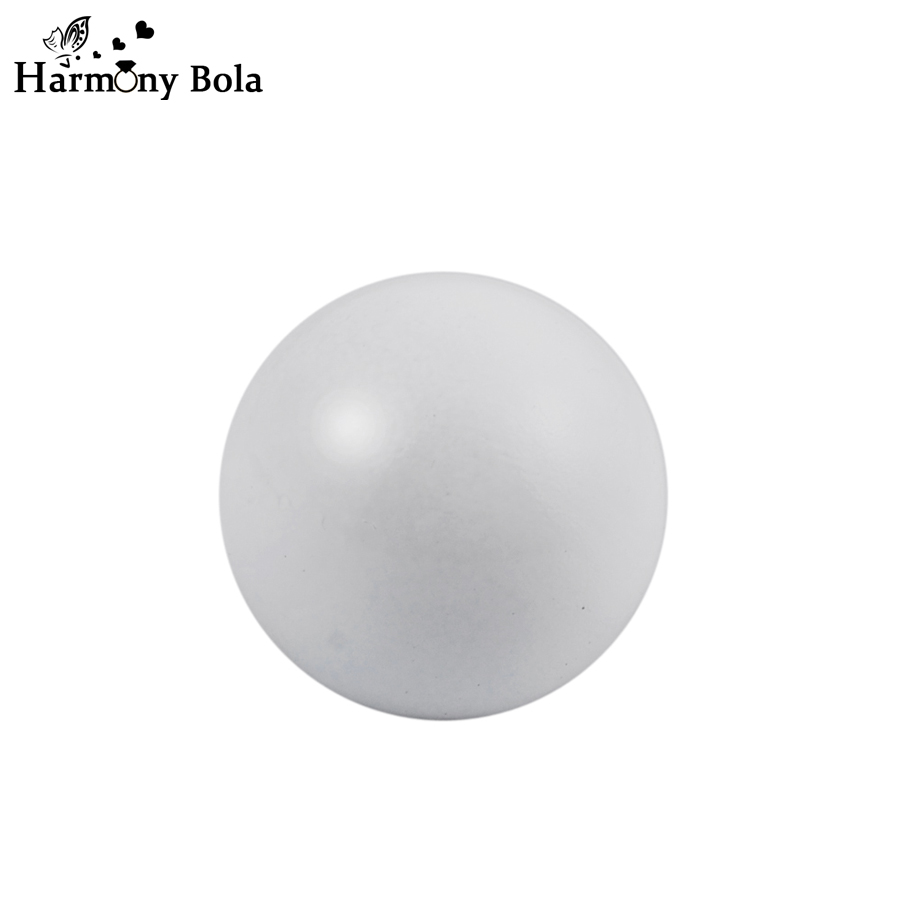 Color harmony online - Wholesale 10pcs White Color Harmony Bola Ball 12mm 14mm 16mm 18mm 20mm