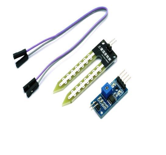 10 Stücke Bodenfeuchte Luftfeuchtigkeit Sensor Hygrometer Detektionsmodul Lm393 Chip Diy Elektronische Für Autos