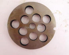 32# stainless steel electric meat grinder blade hole / plate round knife grinder fittings cross cutter