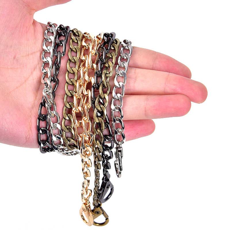 4 اللون حزام سلسلة ل الكتف عبر الجسم حقيبة يد محفظة حزام اكسسوارات طويلة 40 سنتيمتر المعادن الموضة