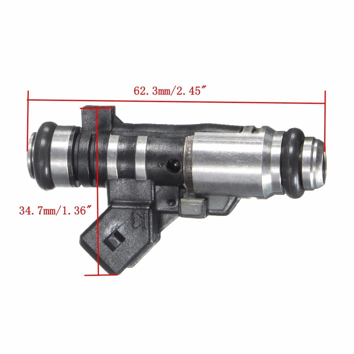 Aliexpress com acheter nouveau essence injecteur de carburant pour peugeot 206 1 1i sw 2e k 1 1 pour partenaire combispace 5f 1 1 9625587580 de fuel