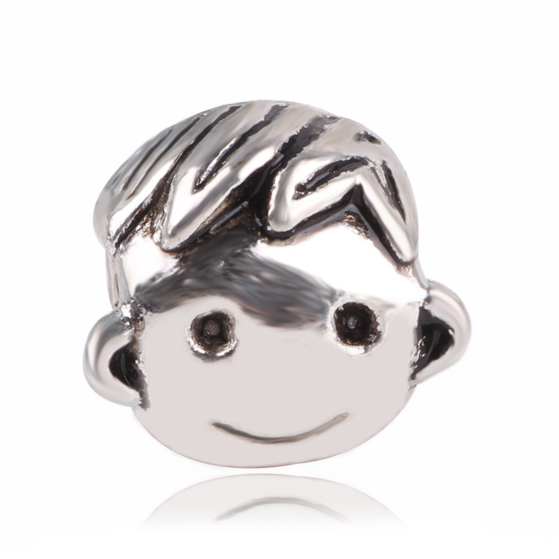 dodocharms Silver Color European Owl Mouse Duck Baby Carriage Bear DIY Bead&Jewelry Marking For Pandora Charm Bracelets