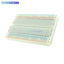 Mini carte de Test pour bricolage, 400 trous de fixation, PCB universel sans soudure pour Circuit de Test de Bus MB102