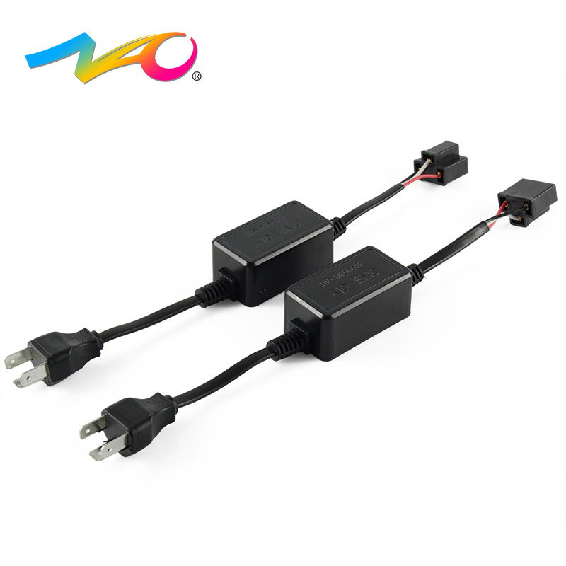 NAO H7 LED h4 led H1 CANBUS Decoder H3 H11 12V HB4 9006 HB3 9005 H8 Car Warning Canceller Error Capacitor CANBUS for headlights nao brand super canbus 2pcs 5202 car warning canceller capacitor error free load resistor led canbus decoder for led headlight