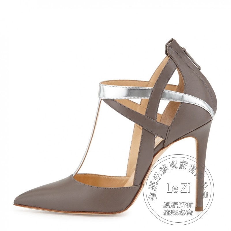 Pointed Toe Advanced Gladiator Formal Casual Famous Shoe Brands Designer Brands Cowhide font b Womens b