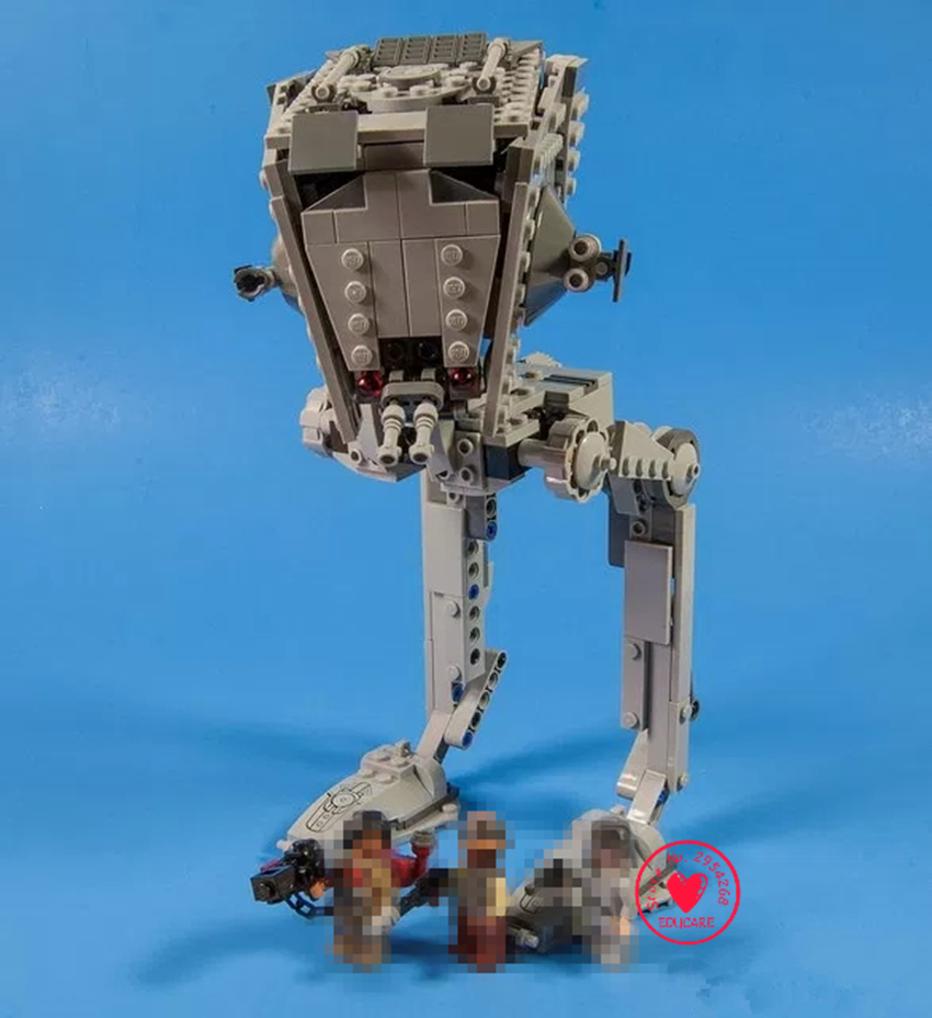 New 2018 Star Wars The Rogue One Imperial AT-ST Walker Building Block Bricks 75153 compatible legoes gift kid Set toys star wars lepin 22001 pirate ship imperial warships model building block briks toys gift 1717pcs compatible legoed 10210