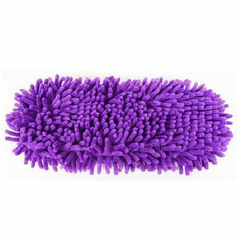 SAGACE 単一モップはスリッパの靴怠惰な靴モップキャップセットハウス浴室の床拭く怠惰な靴カバー bota ş 送信のみ 1