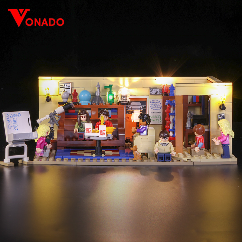 LED light for lego 21302 Compatible 16024 Big Bang Theory Building Blocks Bricks Toys Gifts (only light with Battery box) image