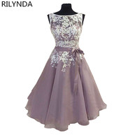 Short Prom Dress Black Purple Pink Lace Ball Gown Back to School Prom Dresses Sexy Party Gown Mini Vestidos