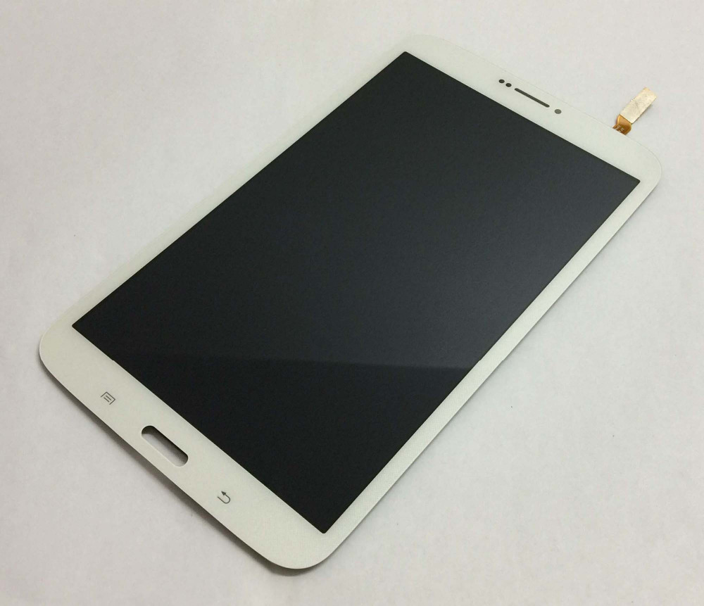 100% Test White Touch Screen Sensor Glass Digitizer + LCD Display Panel Module Assembly for Samsung Galaxy Tab 3 8.0 T311 T315 original for samsung galaxy tab 3 p5200 p5210 lcd display panel touch screen digitizer assembly