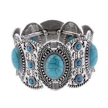 Bracelet Indien Turquoise