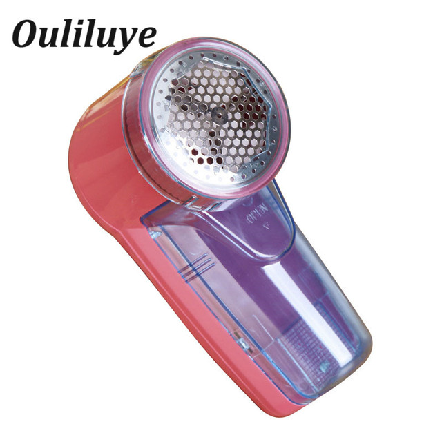 Portable Electric Clothing Lint Pill Clothes Lint Remover Fabric Sweater Shaver Fuzz Spooling Machine Pellets Removal Cutter Red 1